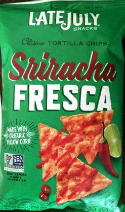 Late July - Sriracha Fresca