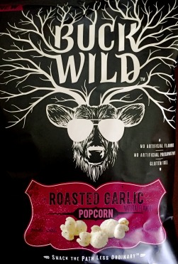 Buck Wild - Roasted Garlic Popcorn