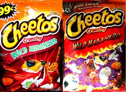 Cheetos - Crunchy - Wild Habanero 2