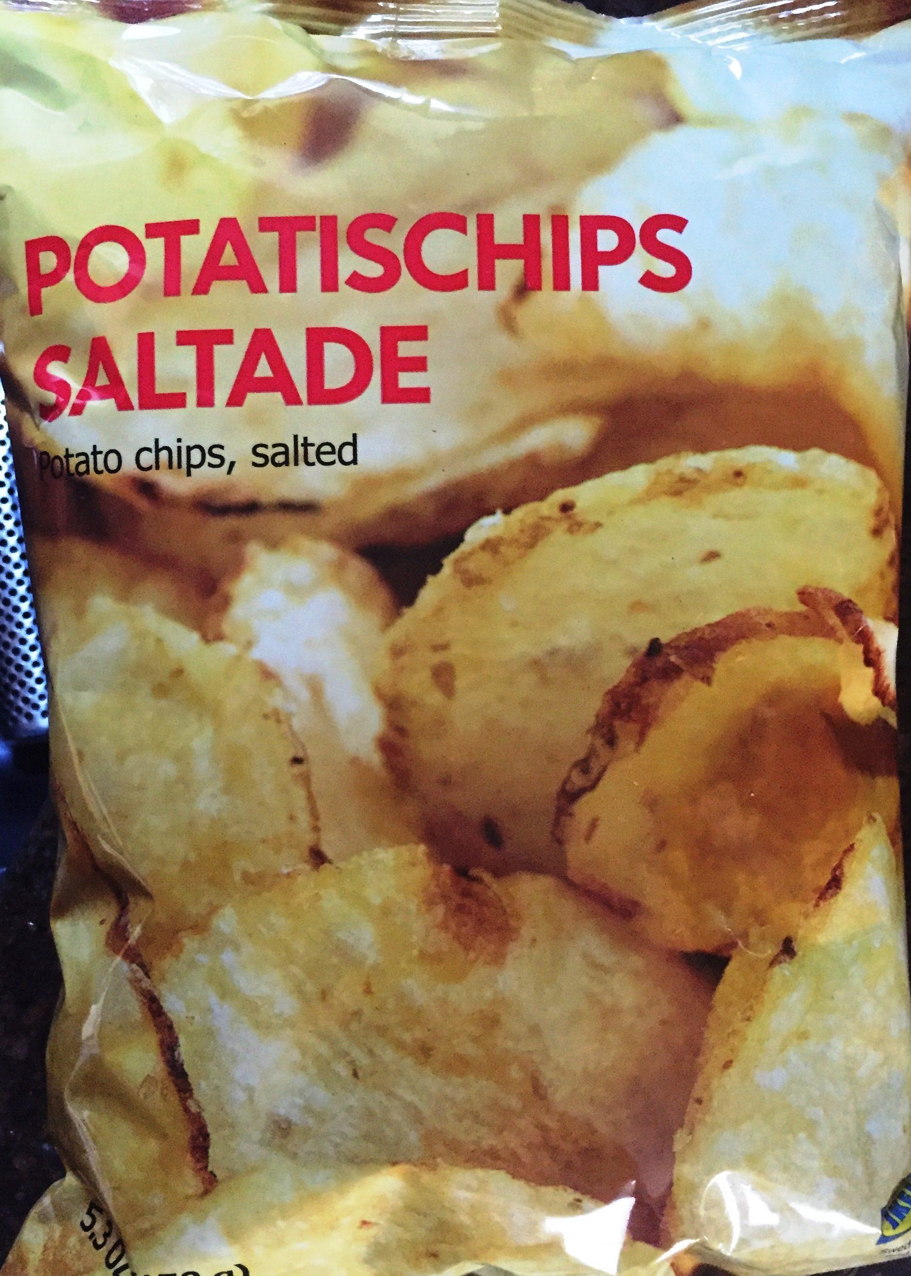 review ikea potatischips satade salted potato chips