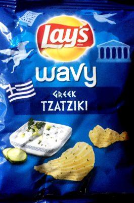 Lay's Wavy - Greek Tzatziki