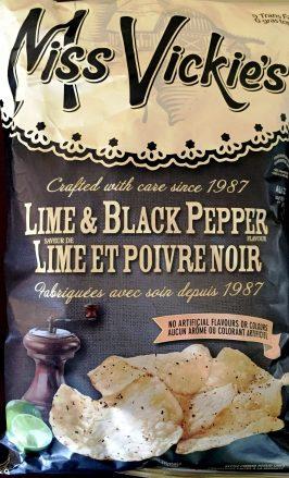 Miss Vickie's - Lime & Black Pepper
