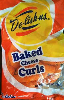 De-lish-us - Baked Cheese Curls