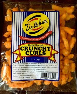De-lish-us - Cheese flavored Crunchy Curls