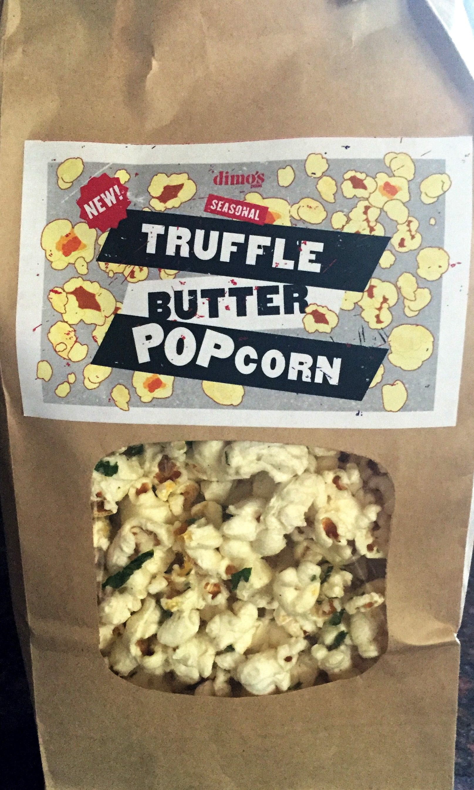 Review Dimo S Truffle Butter Popcorn Chip Review