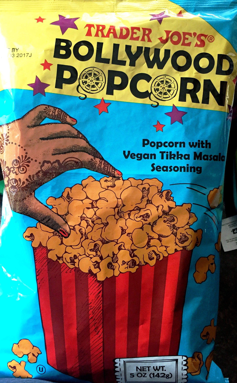 Review trader joe s bollywood popcorn vegan tikka for Trader joe s fish