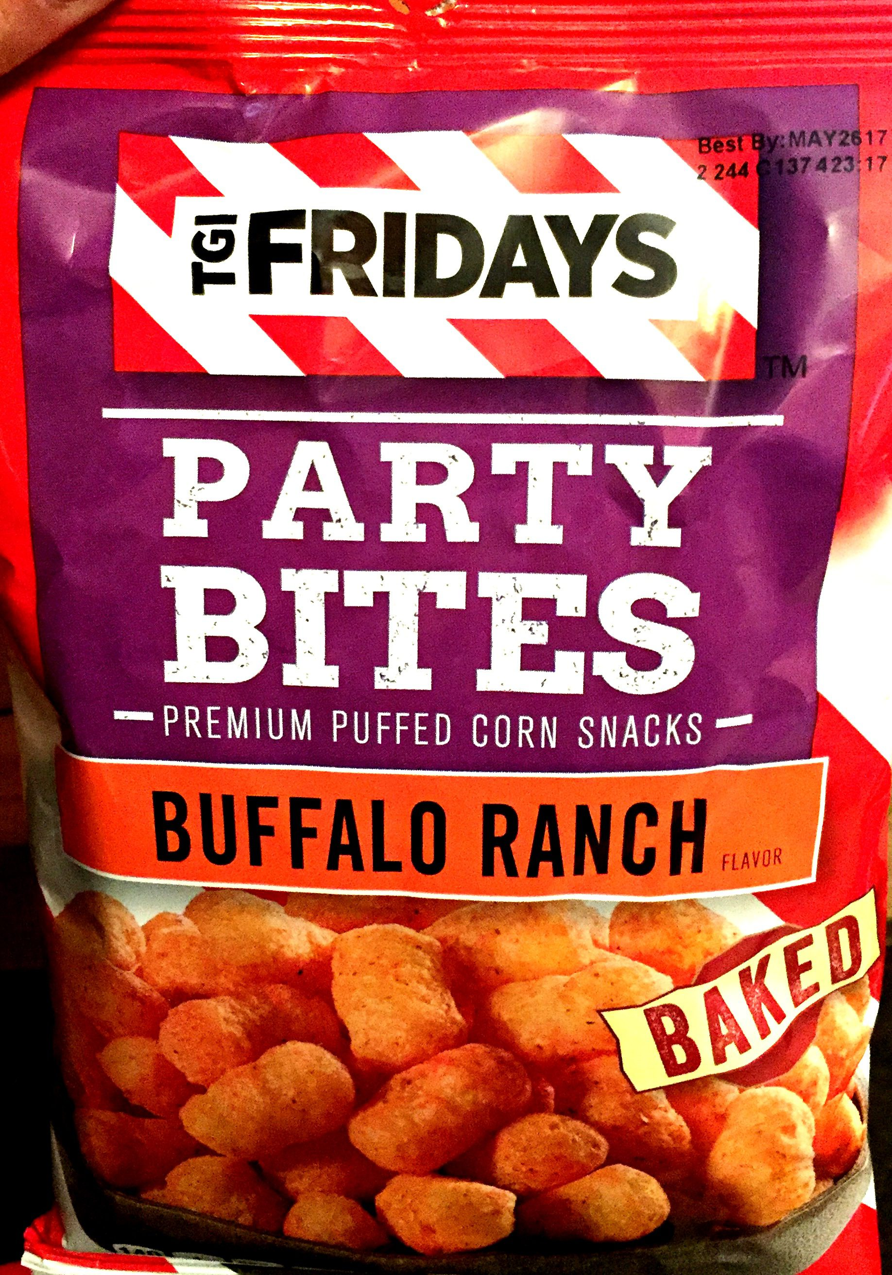 T.G.I. Friday's Buffalo Ranch Party Bites Premium Puffed ...